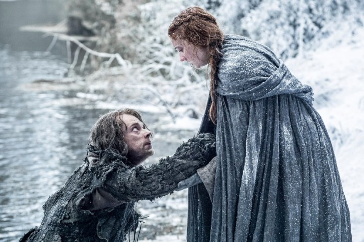 GOTS6 Ep 1 Sansa and Theon